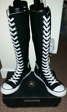 CONVERSE All Star Knee High Boots Shoes XX Hi Trainers Lace Up - Size 7 UK