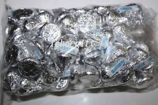 Hershey's KISSES Milk Chocolate SILVER COLOR 465g bag (Approx 100 pieces)