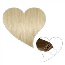 Easy Flip Extensions in platinbond #60 60 cm 130 Gramm Echthaar Your Hair Secret