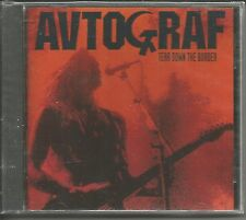 AVTOGRAF Autograf AUTOGRAPH Tear Down the Border OUT PRINT 1991 USA CD SEALED
