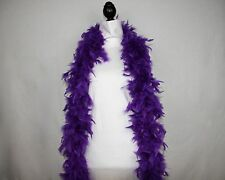 PURPLE Feather Boas 6 FEET 60 GRAMS CHANDELLE; Retail 9.99 - 14.99; Lowest Price