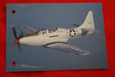 AVIATION- BELL P 63 KING COBRA GUY BROCHOT  N°04 CARTE POSTALE
