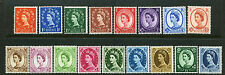 1958-65 ½d-1/6 CROWNS ORDINARY U/MINT SET. SG 570-586