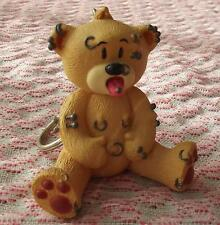 BAD TASTE BEARS Figurines porte clé piercing en résine collector