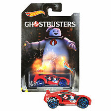 NEW 2016 Hot Wheels 1:64 Die Cast Car GHOSTBUSTERS Exclusive Red Drift Tech 1/8