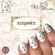 Pattern Gr4 Floral Nail Art Sticker Water Decals Transfer Stickers Tips