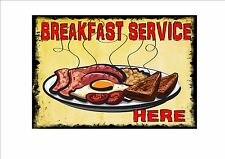American Retro Style Diner Sign Cafe Sign Breakfast Retro Sign Kitchen Sign