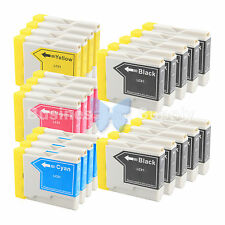 22 PACK LC51 Ink Cartridge for Brother MFC-3360C MFC-240C MFC-440CN LC-51 LC51