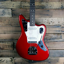 New! Squier by Fender Vintage Modified Jaguar Electric Guitar - Candy Apple Red