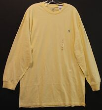 Polo Ralph Lauren Big and Tall Mens Corn Yellow Crewneck L/S T-Shirt NWT 3XLT