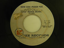 Frankie Brunson 45 HOW CAN I PLEASE YOU / GIVE ME SOMETHING....~ VG to VG+ dance