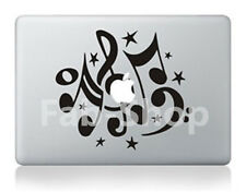 "Nota Musical * Vinilo calcomanía Skin Adhesivo Para Macbook air/pro/pro Retina 11 ""de 13"" 15 """