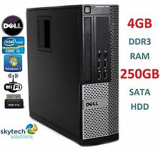 ULTRA FAST DELL OPTIPLEX 790 SFF CHEAP QUAD CORE i5 PC SLIM WiFi WIN 7 COMPUTER