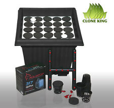 CLONE KING AEROPONIC CLONING MACHINE 25 SITE CLONER  EZ 2 CLONE  100%  WILL ROOT