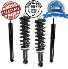 Toyota Sequoia 2001-2002 Front Spring Struts Rear Shock Absorbers