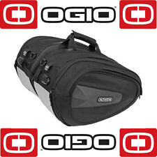 OGIO SADDLE BAG PANNIERS 23 LITRES PER BAG MOTORCYCLE MOTORBIKE LUGGAGE
