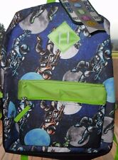 OUTERSPACE OUTER SPACE ASTRONAUT MOON SCHOOL BACKPACK NEW!
