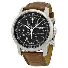 Baume et Mercier Classima Chronograph Leather Mens Watch MOA8589
