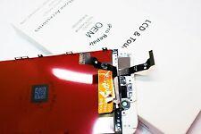 "100% GENUINE OEM Apple White iPhone 6 4.7"" LCD Digitizer Display Screen OHIO"