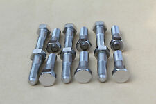 SUZUKI GT750 GS1000 RE5 BRAKE DISC BOLTS POLISHED STAINLESS 09100-08094