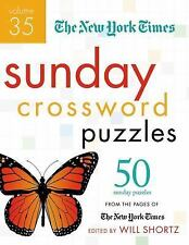 The New York Times Sunday Crossword Puzzles Volume 35: 50 Sunday Puzzles from th