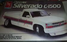 AMT 1990 CHEVY C-1500 SILVERADO PICKUP TRUCK 1/25 Model Car Mountain FS