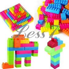 80Pcs Children Kids Puzzle Early Educational Toys Plastic Building Blocks Bricks