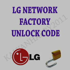 LG Unlock Code LG OPTIMUS F3Q  D520 T-MOBILE USA  NETWORK FAST UNLOCK SERVICE