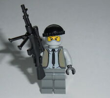 "ARMY/WAR Lego ""Sniper / Hitman"" w/Rifle NEW WWII -ba- Civilian Camo Genuine Lego"