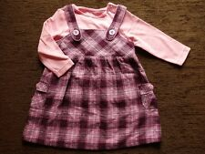 Girls' Outfit Dress and Pink Top 6-9 Months 74cm Height Brand New TU Cherokee