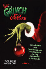 Dr.Seuss' How the Grinch Stole Christmas: Novelisation (Dr Seuss Film Tie in), D
