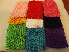 Wholesale18 pcs Girls Baby Crochet Headband With 6 inch Acrylic