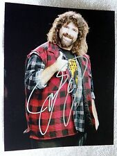 WWE Wrestling Legend Mick Foley Signed 8x10 Photo Auto Cactus Jack Mankind