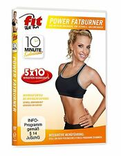 Fit for Fun - 5 mal 10 Minute Solution: Power Fatburner (NEU/OVP)