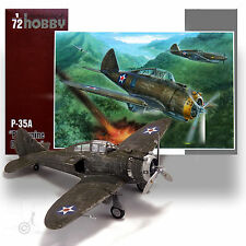 SPECIAL HOBBY 1/72 P-35A 'PHILIPPINE DEFENDER' PLASTIC-RESIN-PHOTO ETCH KIT
