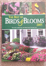 NEW BOOK: THE BEST OF BIRDS & BLOOMS 2005 Buy 3 books get 1 FREE AND $10 GIFT!