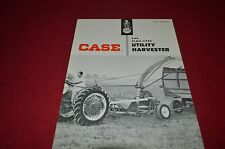 Case Tractor 640 Flail Type Utility Harvester Dealer's Brochure DCPA6