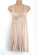TOPSHOP BOW STUD DRESS LIMITED EDITION RRP £150 UK 12 US 8 EUR 40 BNWT RARE