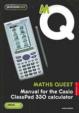 Maths Quest Manual for the Casio Classpad 330 Calculator 2E & eBook  New, freepo