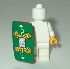 SHIELD Lego Compatible Roman Shield Green Feathers pattern  NEW (stk)