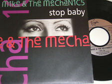 """7"""" - Mike & The Mechanics Stop Baby & Get up - MINT 1991 # 1775"""