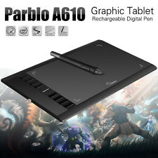 Parblo A610 UGEE M708 Art Drawing Graphics Tablet 5080LPI DC 5V