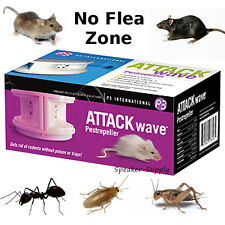 Attack Wave Pest Repeller Mice Rat Cockroach Flea Cricket Ants Bug Rodent P7816