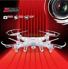 SYMA X5C RC HELICOPTER QUADCOPTER DRONE W/ 2MP FPV Camera 2.4GHz 4CH 6Axis 0R48