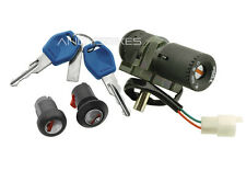 Ignition Switch Seat Lock Set Kit Aprilia Habana Custom Retro Mojito 50 125 150