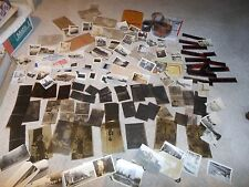 Huge Lot 150+ Vintage Old Photos Pictures NEGATIVES Black & White Brownie Camera