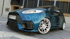 FRONT SPLITTER (GLOSS BLACK) - FORD FIESTA 7 'MAXTON RS 15 bumper'