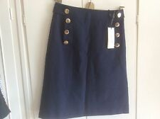 Karen Millen Skirt Size 10 New With Tags Navy Pointe