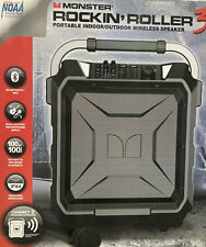 Monster 100W Rockin' Roller 3 Bluetooth Indoor/Outdoor Wireless Portable Speaker