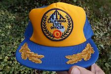 ATA CALIFORNIA STATE OFFICER   AMATURE TRAP SHOOTING SNAP BACK CAP HAT